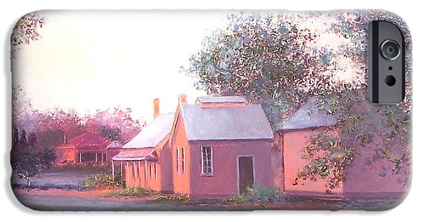 The Old Train Station IPhone Case by Jan Matson