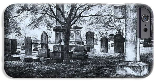 The Old Weathered Cross - Greensboro North Carolina II IPhone Case by Dan Carmichael
