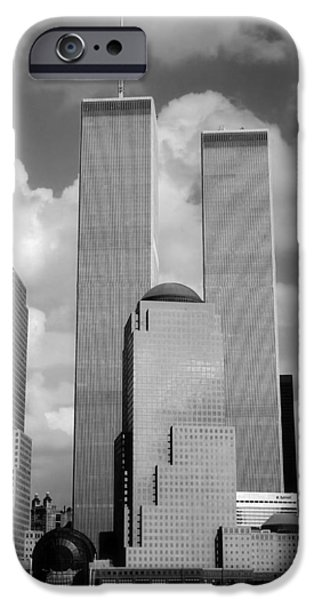 The Old Wtc IPhone Case by Joann Vitali