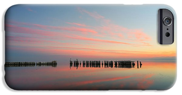 The Pastel Sea IPhone Case by Larry Marshall
