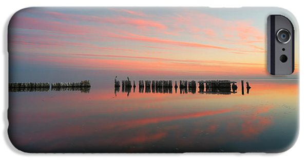 The Pastel Sea - Panorama  IPhone Case by Larry Marshall