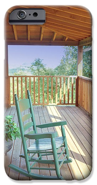 The Porch IPhone Case by Kay Pickens