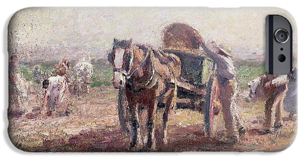 The Potato Pickers IPhone 6s Case by Harry Fidler