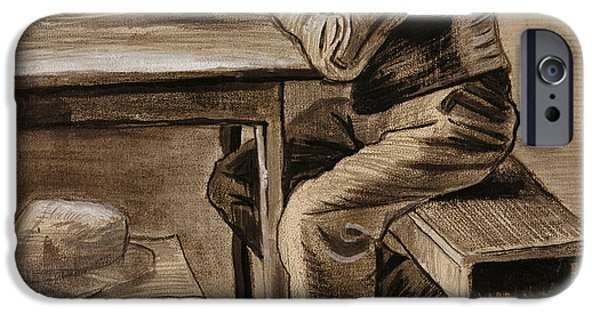 The Prayer IPhone Case by Vincent Van Gogh