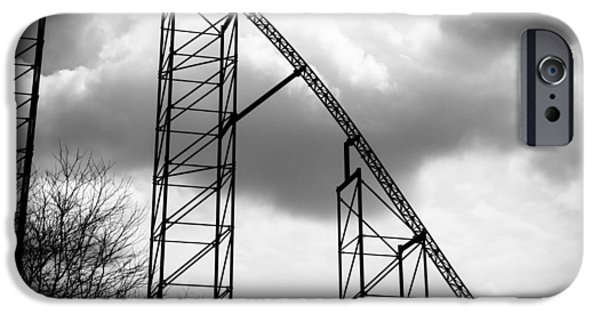 The Ride Of Steel 7k01004 IPhone Case by Guy Whiteley