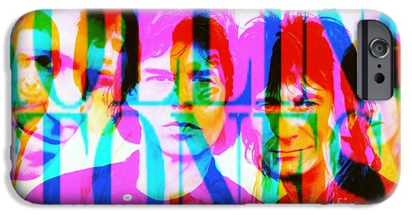 The Rolling Stones IPhone Case by Elizabeth McTaggart