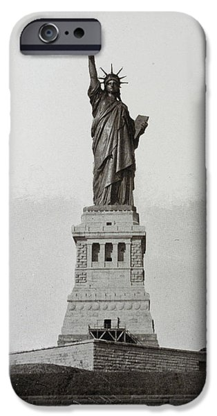 The Statue Of Liberty IPhone Case by British Library