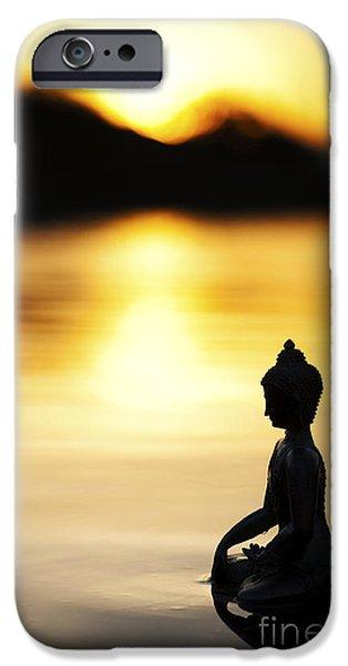 The Stillness Of Sunrise IPhone Case by Tim Gainey