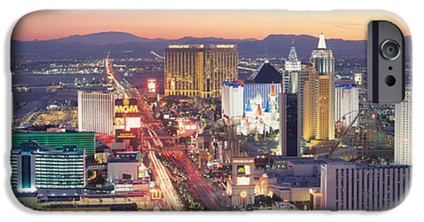 The Strip Las Vegas Nv Usa IPhone Case by Panoramic Images