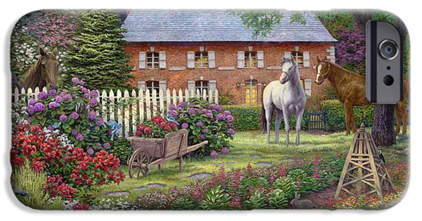 The Sweet Garden IPhone Case by Chuck Pinson