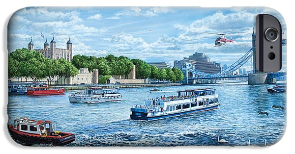 The Tower Of London IPhone 6s Case by Steve Crisp