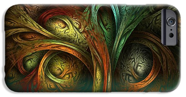 The Tree Of Life IPhone Case by Sandra Bauser Digital Art