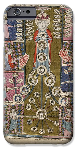 The Tree Of Love IPhone Case by British Library