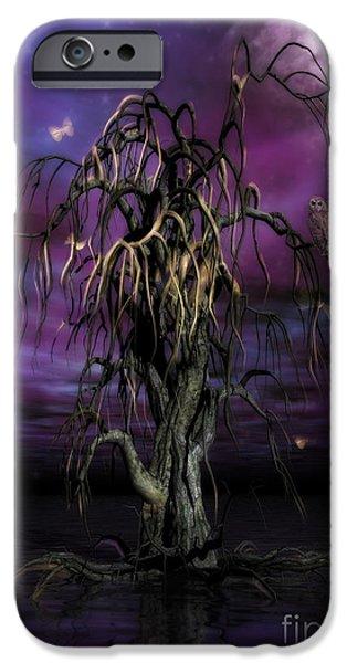 The Tree Of Sawols IPhone Case by John Edwards