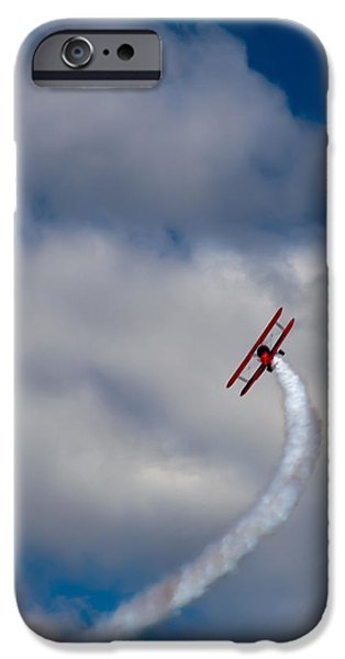The Vapor Trail IPhone Case by David Patterson