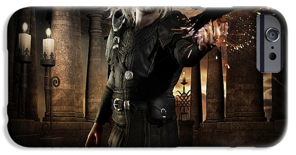 The Warlock IPhone Case by Shanina Conway