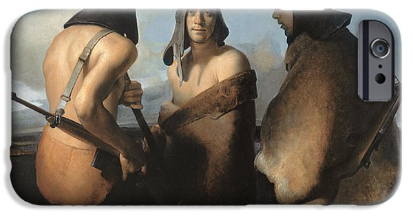 The Water Protectors IPhone Case by Odd Nerdrum