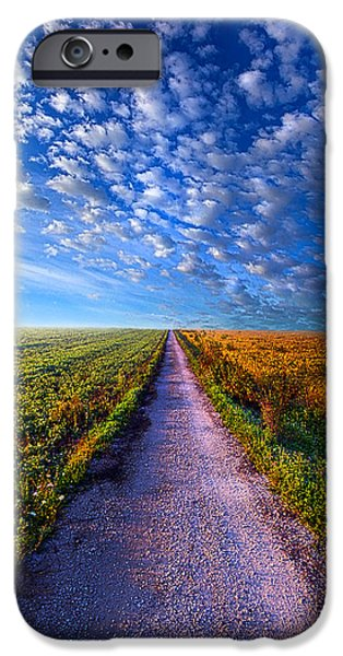 The Way Is Clear IPhone Case by Phil Koch