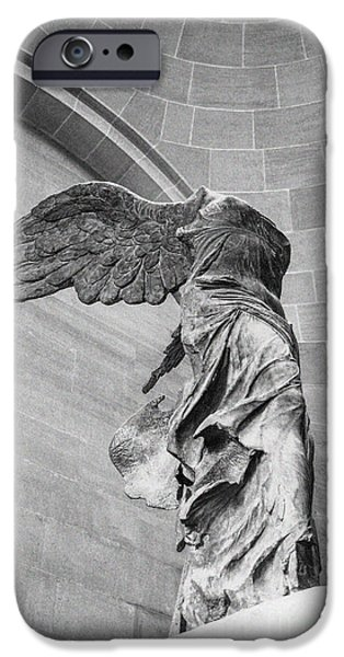 The Winged Victory IPhone Case by Patricia Hofmeester