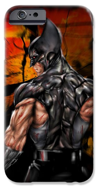 The Wolverine IPhone Case by Pete Tapang