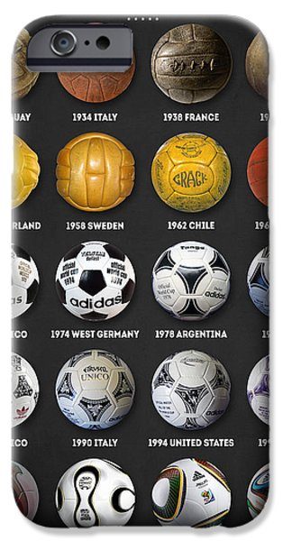 The World Cup Balls IPhone 6s Case by Taylan Soyturk
