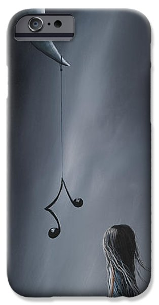 They Feel Your Love Song - Surreal Art By Shawna Erback IPhone Case by Shawna Erback