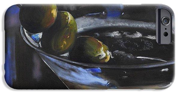 Three Olive Martini IPhone 6s Case by Donna Tuten