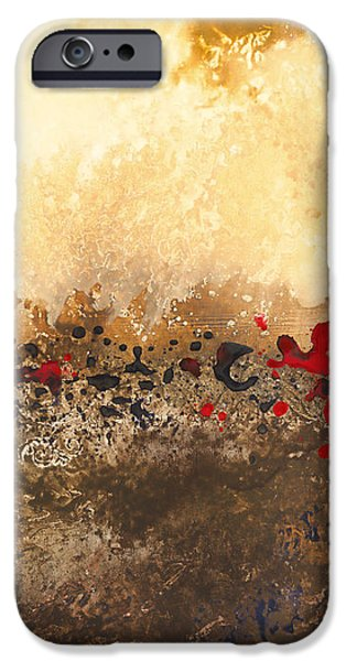 Tidal Sunrise Panel 1 IPhone Case by Craig Tinder