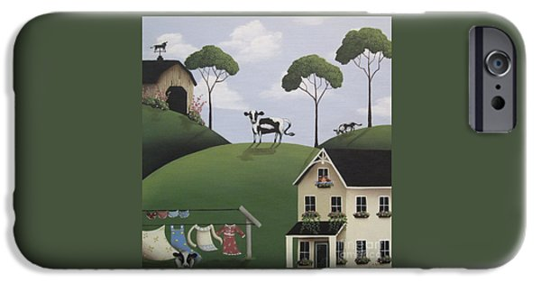 Till The Cows Come Home IPhone Case by Catherine Holman