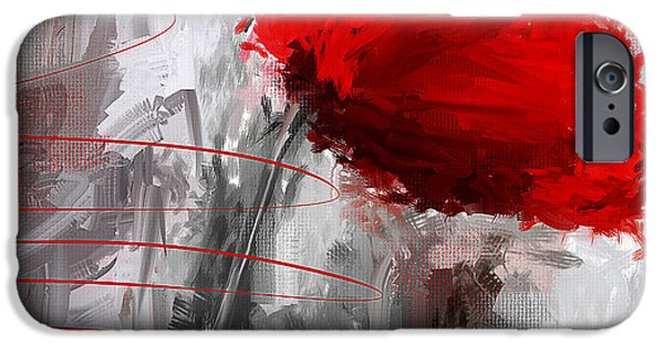 Tint Of Red IPhone Case by Lourry Legarde