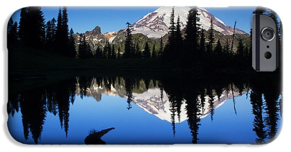 Tipsoo Sunrise IPhone Case by Mark Kiver