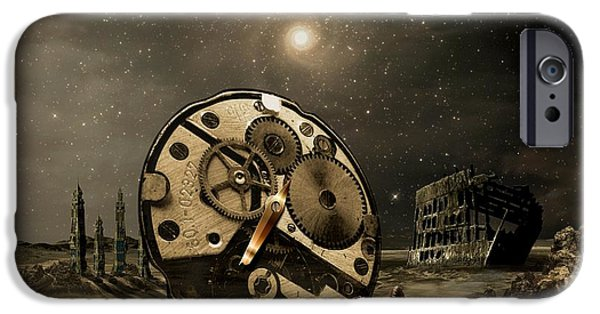 Tired Old Time IPhone Case by Franziskus Pfleghart