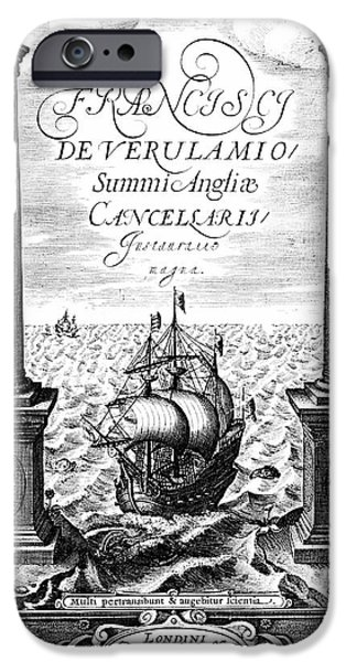 Title Page Of Instauratio Magna IPhone Case by Universal History Archive/uig