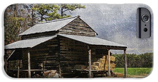 Tobacco Barn In North Carolina IPhone Case by Benanne Stiens
