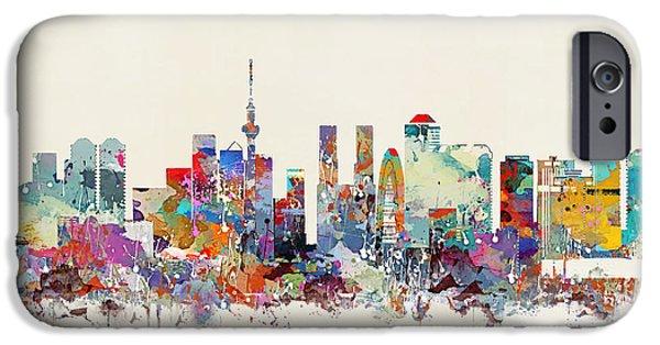 Tokyo Skyine IPhone 6s Case by Bri B