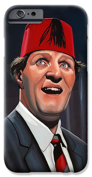 Tommy Cooper IPhone Case by Paul Meijering