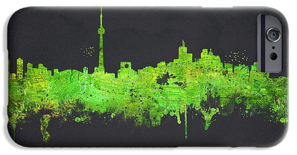 Toronto Canada IPhone Case by Aged Pixel