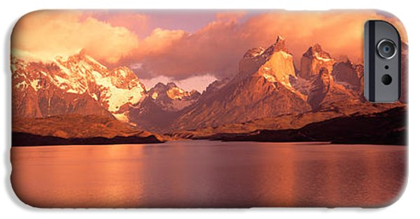 Torres De Paine National Park Chile IPhone Case by Panoramic Images