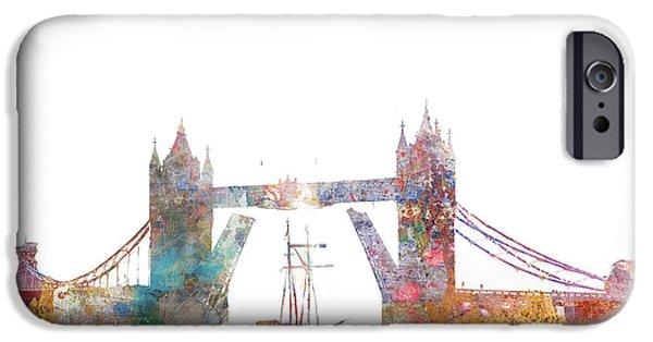 Tower Bridge Colorsplash IPhone 6s Case by Aimee Stewart