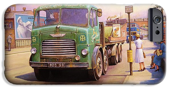 Tower Hill Transport. IPhone Case by Mike  Jeffries