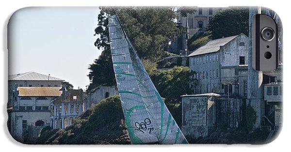 Tp52 At Alcatraz IPhone Case by Steven Lapkin