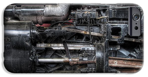 Train - Engine - 611 - Norfolk And Western - Built 1950 IPhone Case by Mike Savad