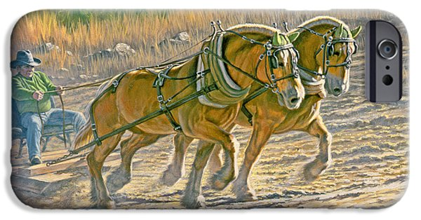 Training For The Pull  IPhone Case by Paul Krapf