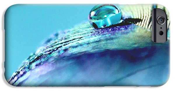 Tranquil Blue IPhone Case by Krissy Katsimbras