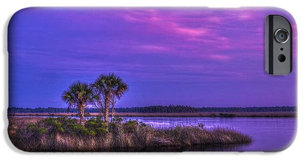 Tranquil Palms IPhone Case by Marvin Spates