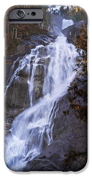 Tranquility Of Creation - Waterfall Art IPhone Case by Jordan Blackstone