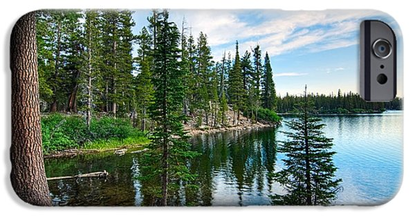 Tranquility - Twin Lakes In Mammoth Lakes California IPhone Case by Jamie Pham