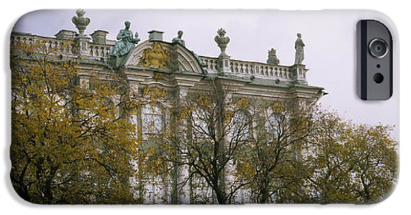 Tree In Front Of A Palace, Winter IPhone 6s Case by Panoramic Images