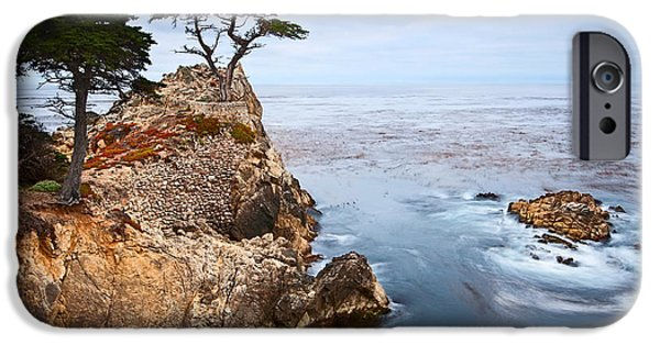 Tree Of Dreams - Lone Cypress Tree At Pebble Beach In Monterey California IPhone Case by Jamie Pham
