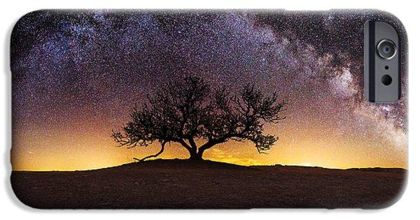 Tree Of Wisdom IPhone Case by Aaron J Groen